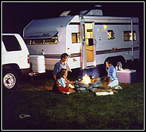 family camping - rving fun
